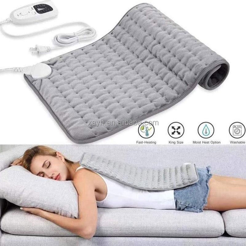 100w 2021Hot Selling Outdoor Washable Electric Battery Operated Heated Blanket