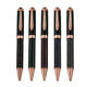 Premium Gifts Set Carbon Fiber body Gold Plating Heavy Pen Luxe Superior Gun Metal Carbon fiber ballpoint pen carbon