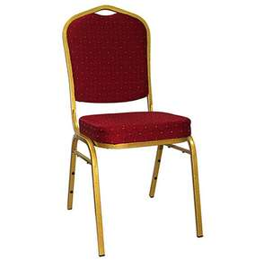Wholesale Modern Luxury Cheap Used Upholstered Gold Chrome Frame Stacking Event Furniture Banquet Hall Chairs For Sale