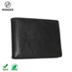 One-Stop Service Men Wallets Card Holder Popular Fashion Genuine Leather Black Slim Id Window Men Trifold Wallet Card Holder