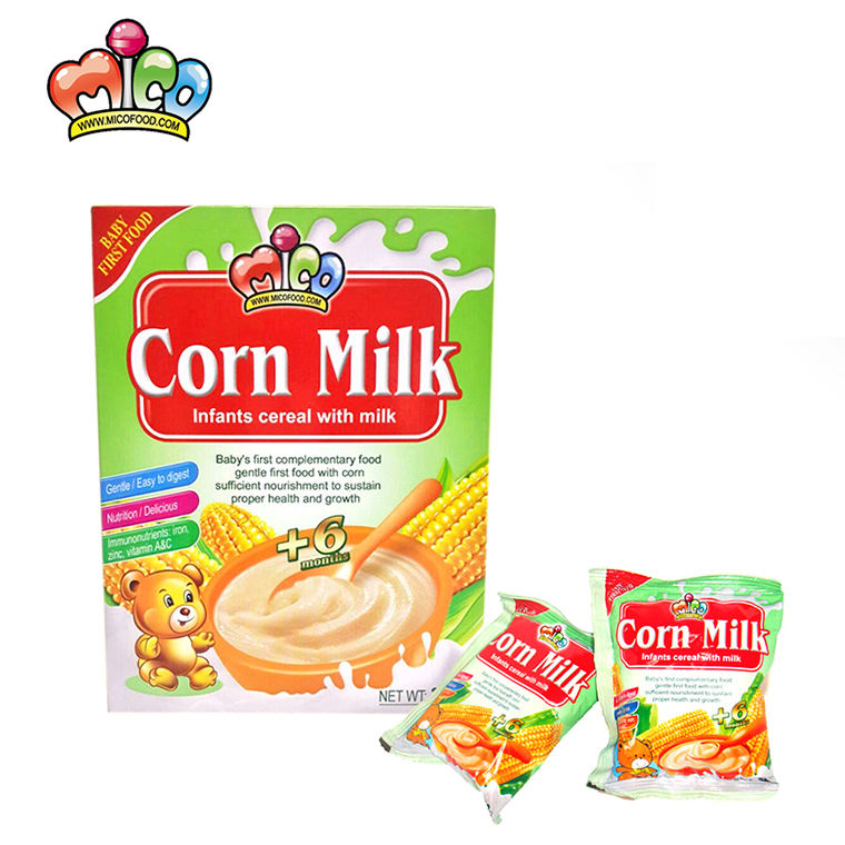 best-selling rice corn milk baby infant instant cereal
