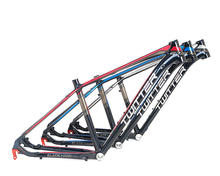 "Bicycle factory in china 29er 15.5"" 17"" 19"" fork suspension mtb aluminum alloy 7005 bicycle frame"