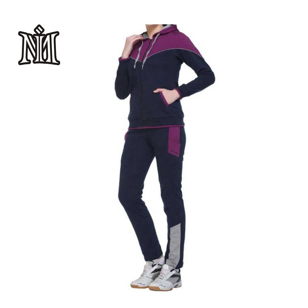 Fitness track suit Design Your Own Tracksuit Custom Design Winter Sports wear Ladies Track suits Clothing Women pink Jogging W