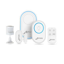 Smart Home Alexa and Google Home Supported Anti Burglar Alarm Wireless Security Alarm System