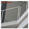 curved balcony stainless steel cable deck rails wire railing systems