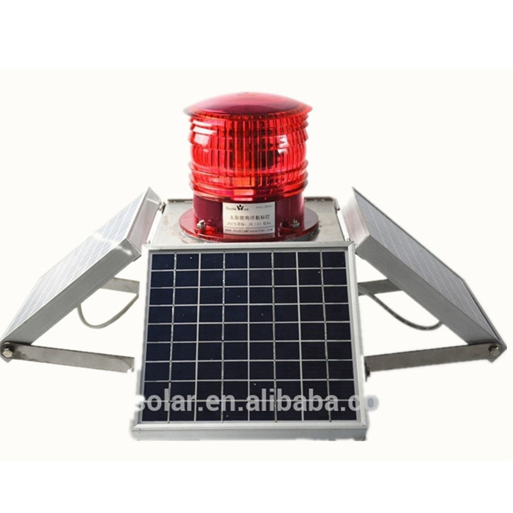 13NM Visibility Solar led high mast and tower Marine Navigation signal light