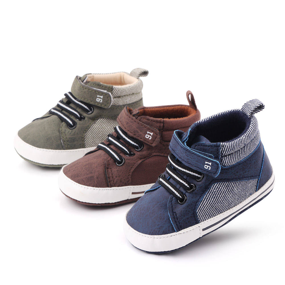 High quality baby boy shoes baby sneakers prewalker first walking baby shoes