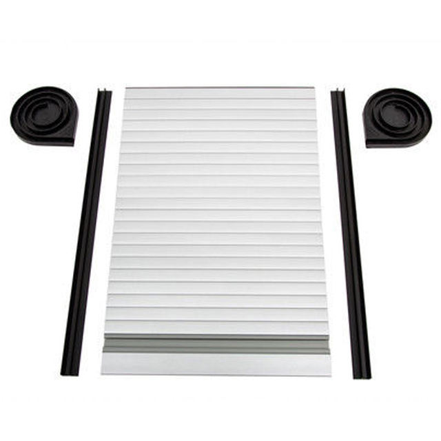 Horizontal Opening Plastic PVC Tambour Door Cabinet Roller Shutter Doors For Kitchen Cupboard