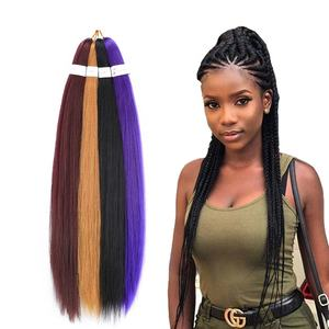 Ombre Jumbo Braids Professional Itch Free Hot Water Setting For Black Women Styling Products Ombre Pre-stretched Braiding Hair