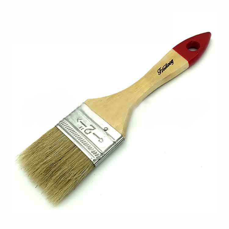 Hot-selling high quality low price flat trim touch-up paint brushes