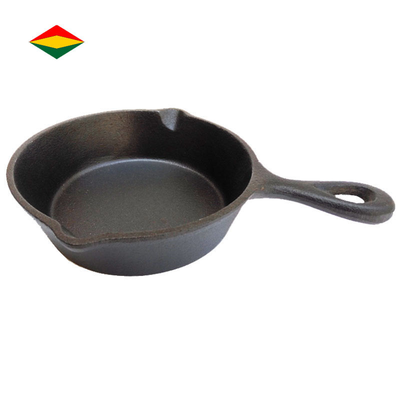 Wholesale Frying Pan Mini Fried Egg Small Cast Iron Skillet