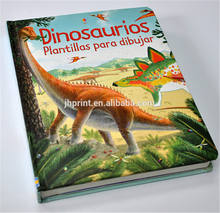 OEM professional printing factory hardcover cheap dinosaur encyclopedia children book