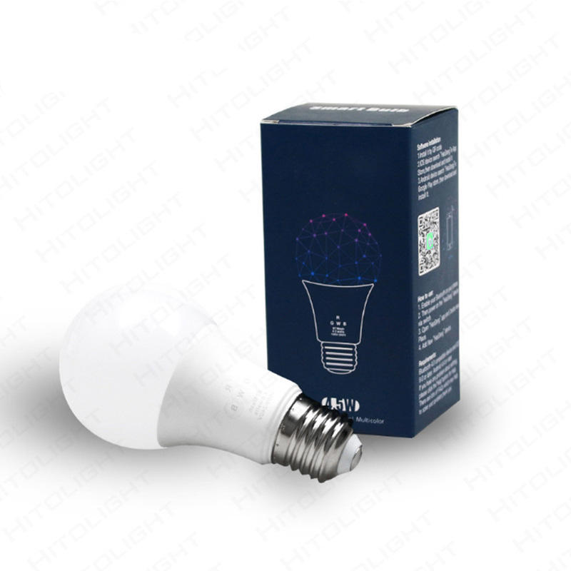 <span class=keywords><strong>E27</strong></span> Plastic Zak Aluminium Lamp Led Spaarlamp Rgb Smart Afstandsbediening Schroef Audio Wifi Bulb Lamp