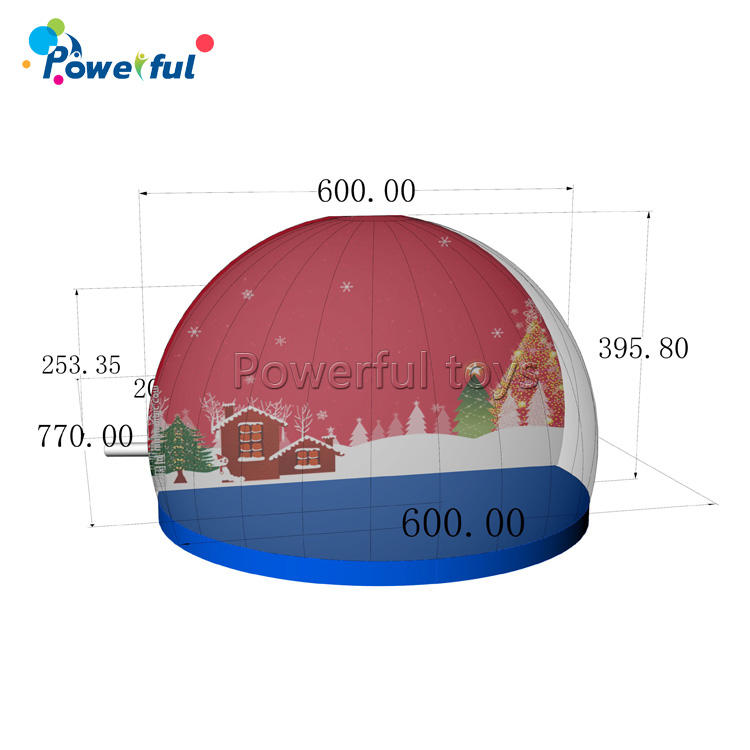 <span class=keywords><strong>Fai</strong></span> <span class=keywords><strong>da</strong></span> <span class=keywords><strong>Te</strong></span> Bolla <span class=keywords><strong>Gonfiabile</strong></span> Snow Globe Photo Booth per Il Natale