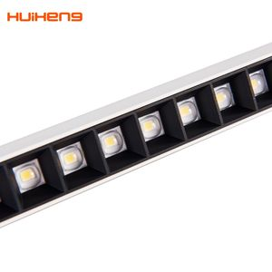 HH45A Simple Modern 4ft 20w 36W Aluminum Housing Restaurant Suspended Pendant Led Linear Light