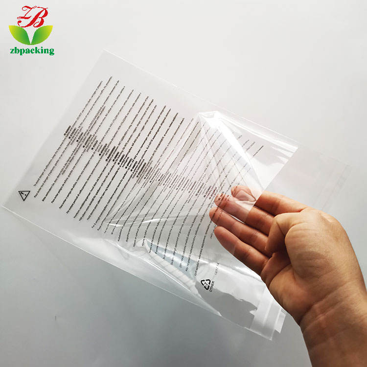 Factory wholesale stickers OPP bags transparent OPP sealed plastic bags stationery supplies disposable packaging bags