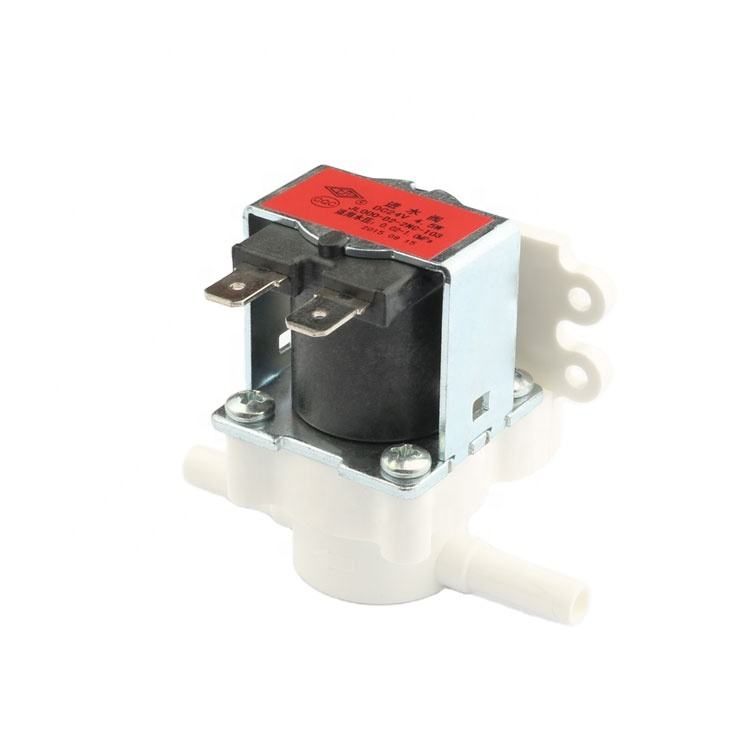 water solenoid valve 24v 1/4'' closed inlet solenoid valve fast connect mini water solenoid valve low price china