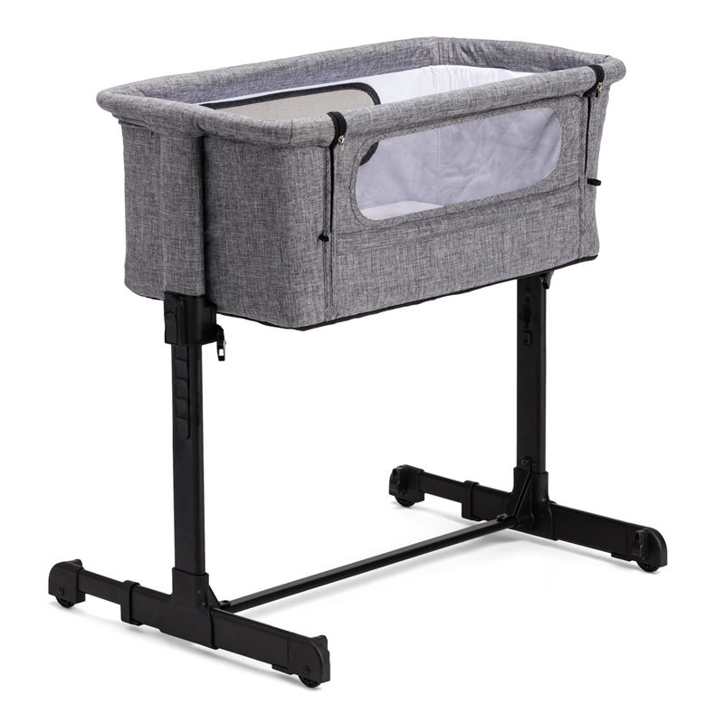 bedside crib travel cot baby sleeping bed baby cot easy fold baby bassinet height adjustable Co-sleeper Bedside crib