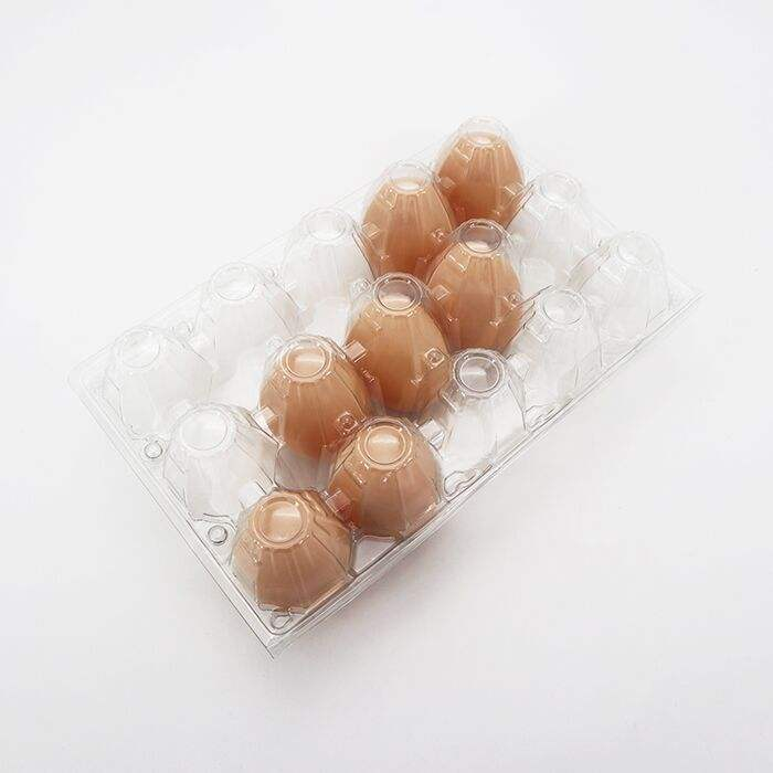 hot selling clear quail 4 cavities plastic blister eggs packaging tray