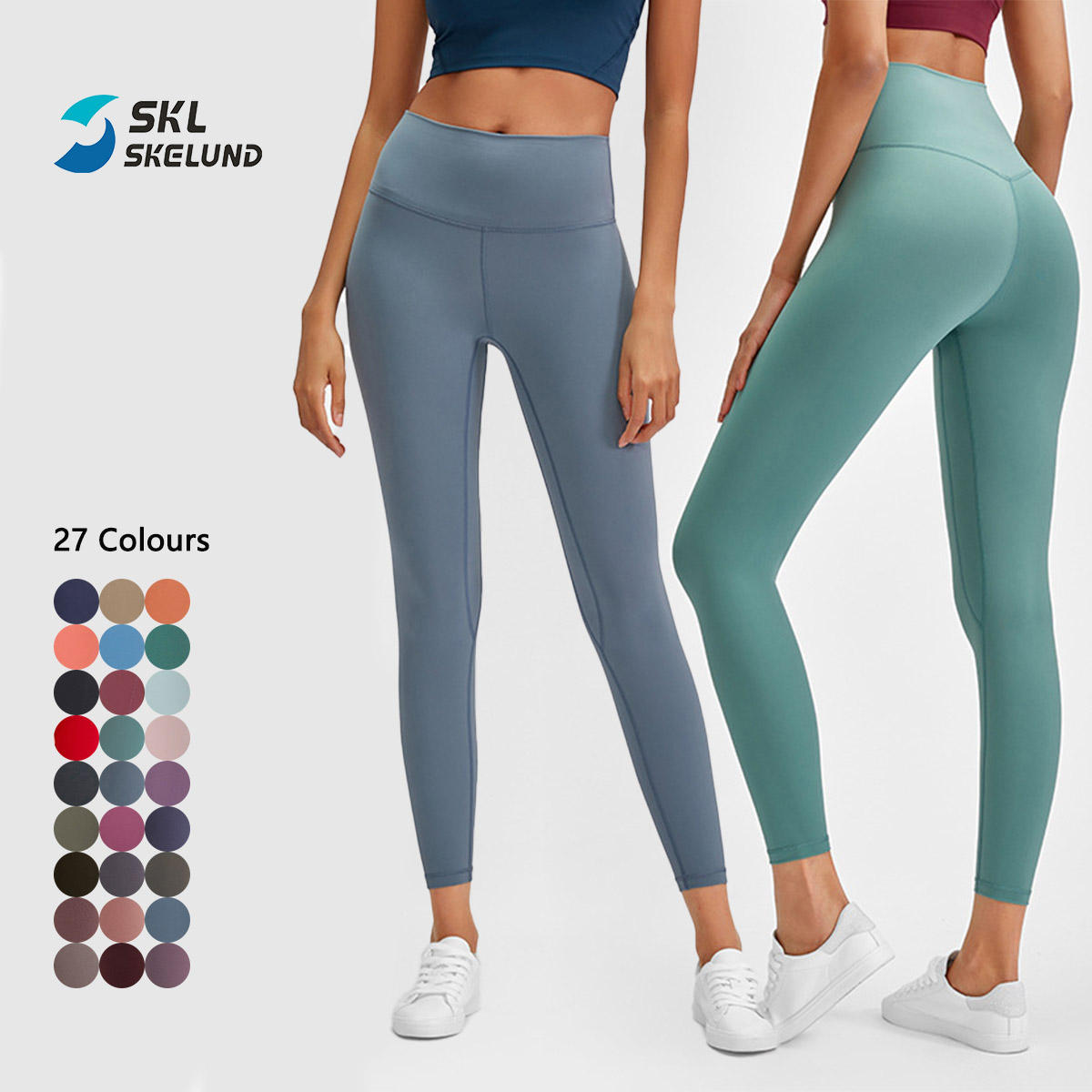 Wholesale High Quality Nylon Npandex Neon High Waist Breathable Fitness Leggings Sexy Yoga Pants With Pockets For Women