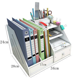 Document shelves multi-layer folders storage boxes desktops