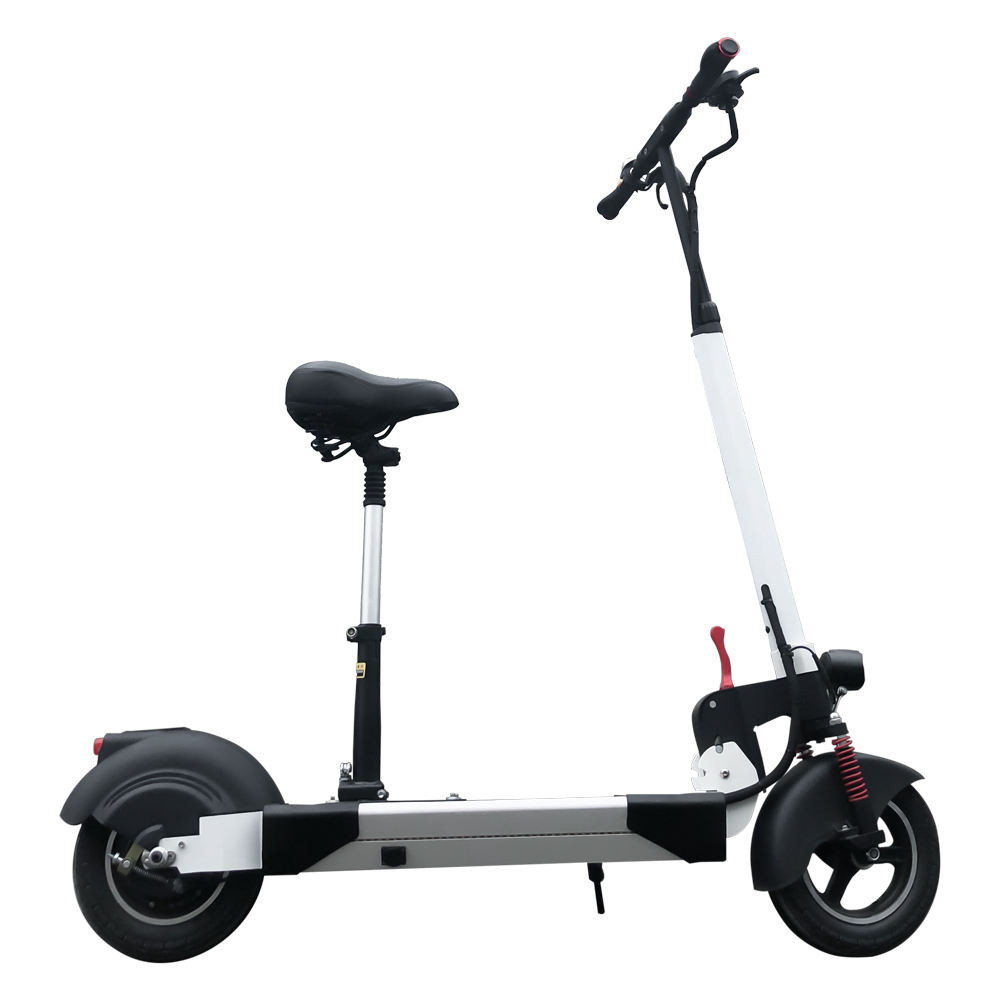 GemCharm GCM1001 2020 New Products 10inch 350W Commute Foldable Scooter Electric Adult with Seat