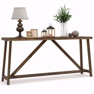 Good Wood Table Good Quality Factory Directly Solid Wood Center Console Table