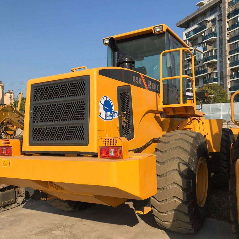 Used wheel loader Liugong 856 good condition for sale