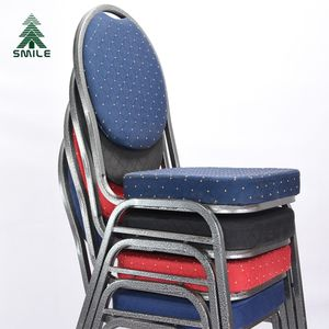 Stackable used banquet hall chairs for sale