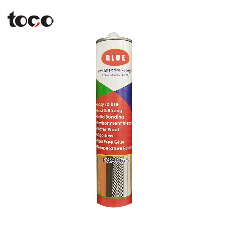 TOCO Neutral Rtv Silicone Sealant Liquid White Wood Filler Glue No More Nails Adhesive