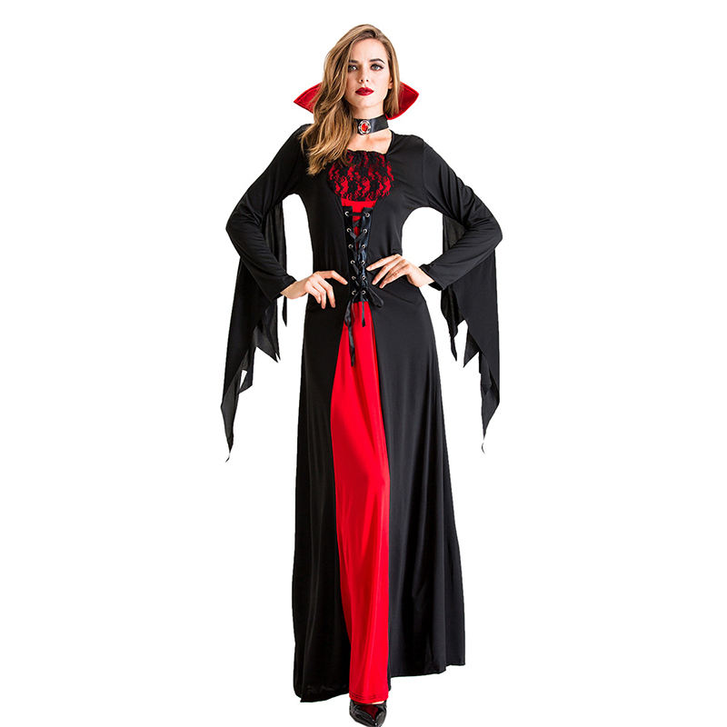Neue <span class=keywords><strong>Halloween</strong></span> Party Kleid Cosplay Kostüm Frauen Vampire Königin Hexen Kostüme <span class=keywords><strong>Halloween</strong></span> Frauen