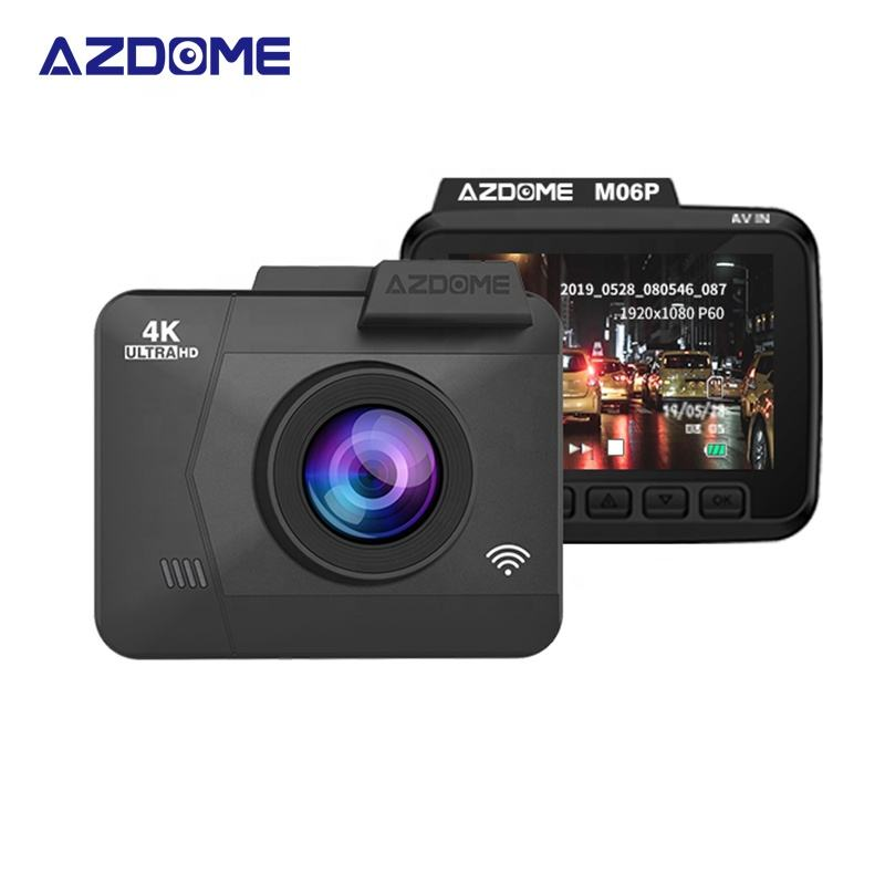 AZDOME 4K Car DVR Built in GPS WiFi Car Camera 2.4 Inch Vehicle Camera Camcorder Night Vision Dash Cam