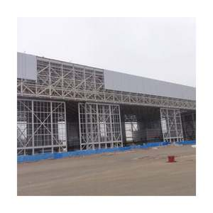 Highly Reliable Hot Sale Customized Prefab Hangar Light Steel Space Frame Structure