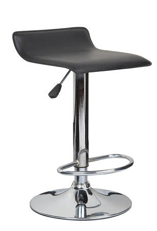 Leather Club Stool Chairs Bar Chair