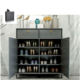 simple modern living room wood Shoe storage Cabinet furniture with door