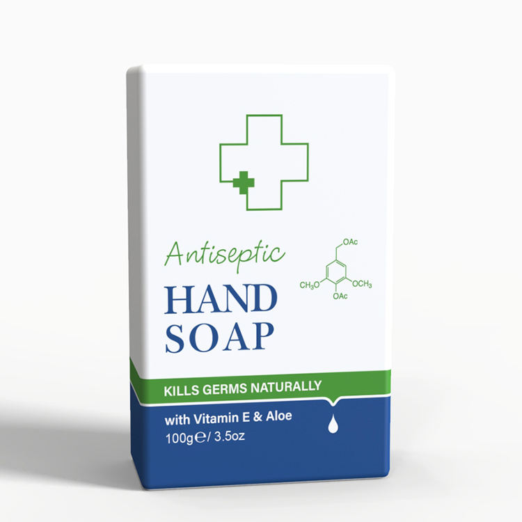 OEM MSDS Antiseptic Hand Wash Antibacterial Solid Bar Soap