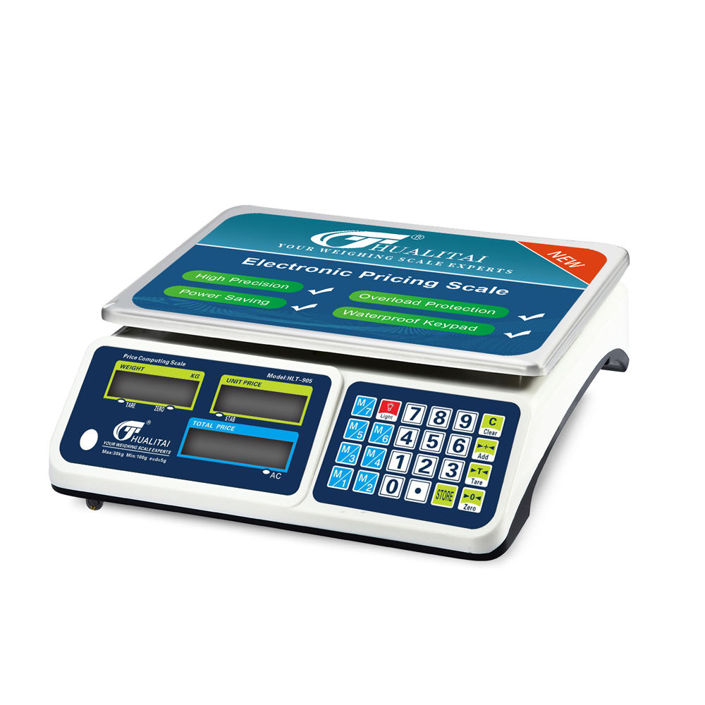 ACS 30kg electronics digital price computing weighing scale with 1g pricesion and counting feature