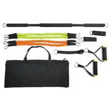 Exercise Gym Bar with Resistance Bands Set,Full Resistance bands Training set with Pilates Stick Bar