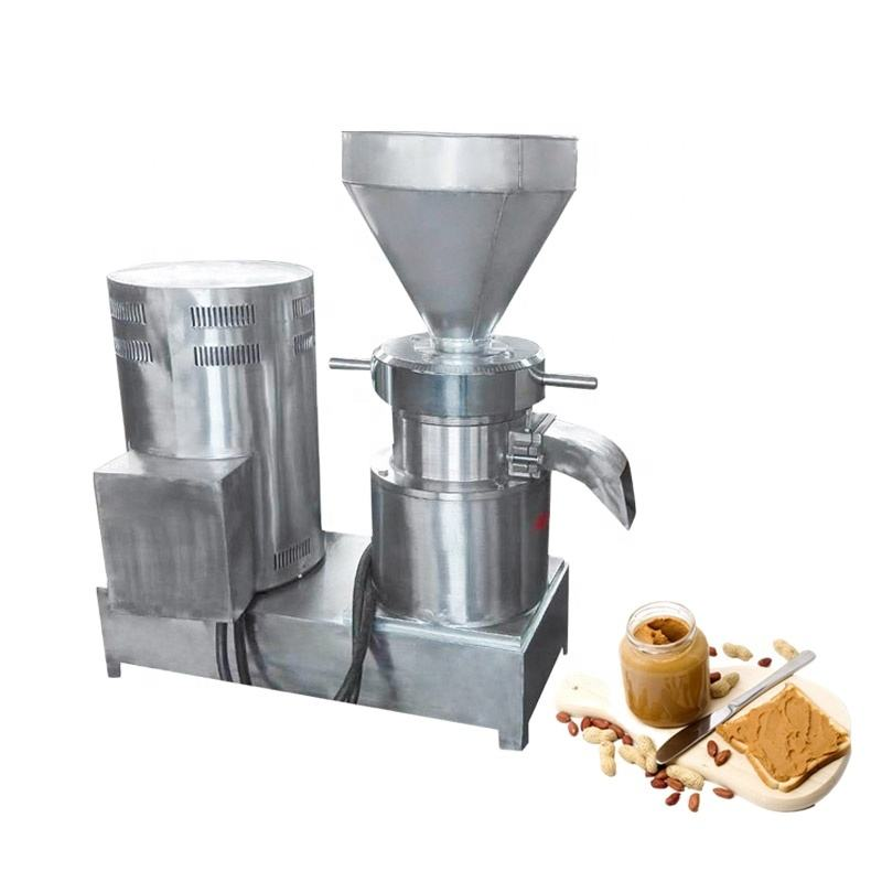 Lab colloid mill Jm-50L portable automatic machine making peanut butter