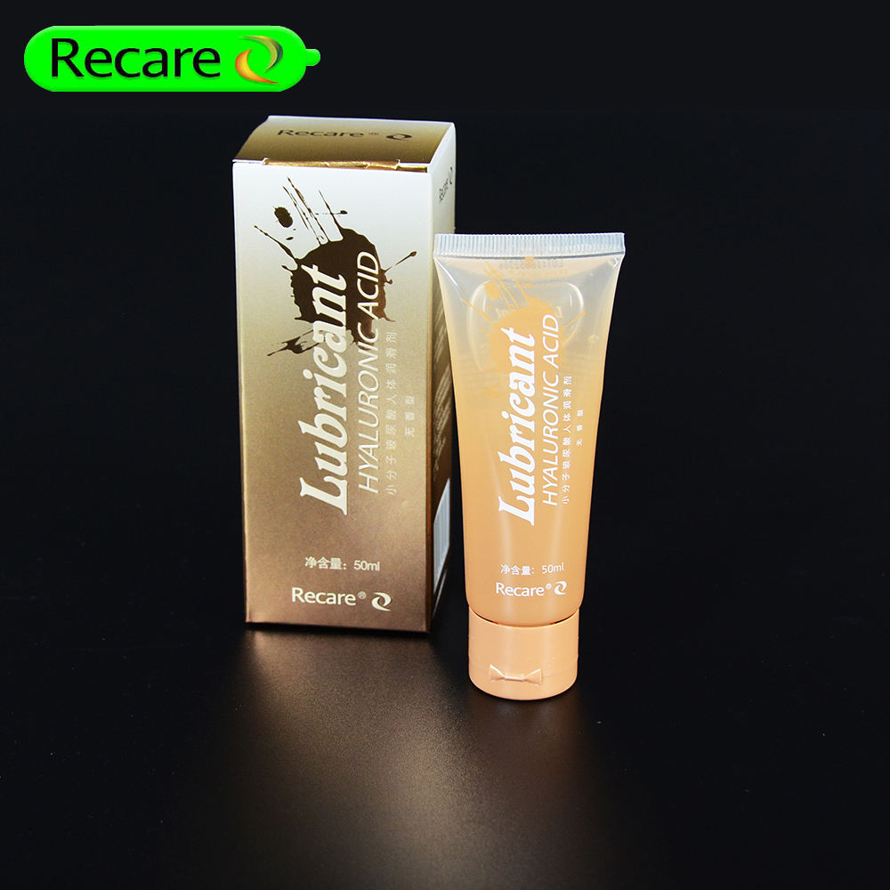 Recare adult human liquid lube sex personal hyaluronic acid lubricant