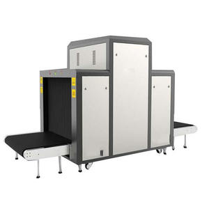 Large Size X Ray Cargo Scanner 10080 for airport custom bus railway station