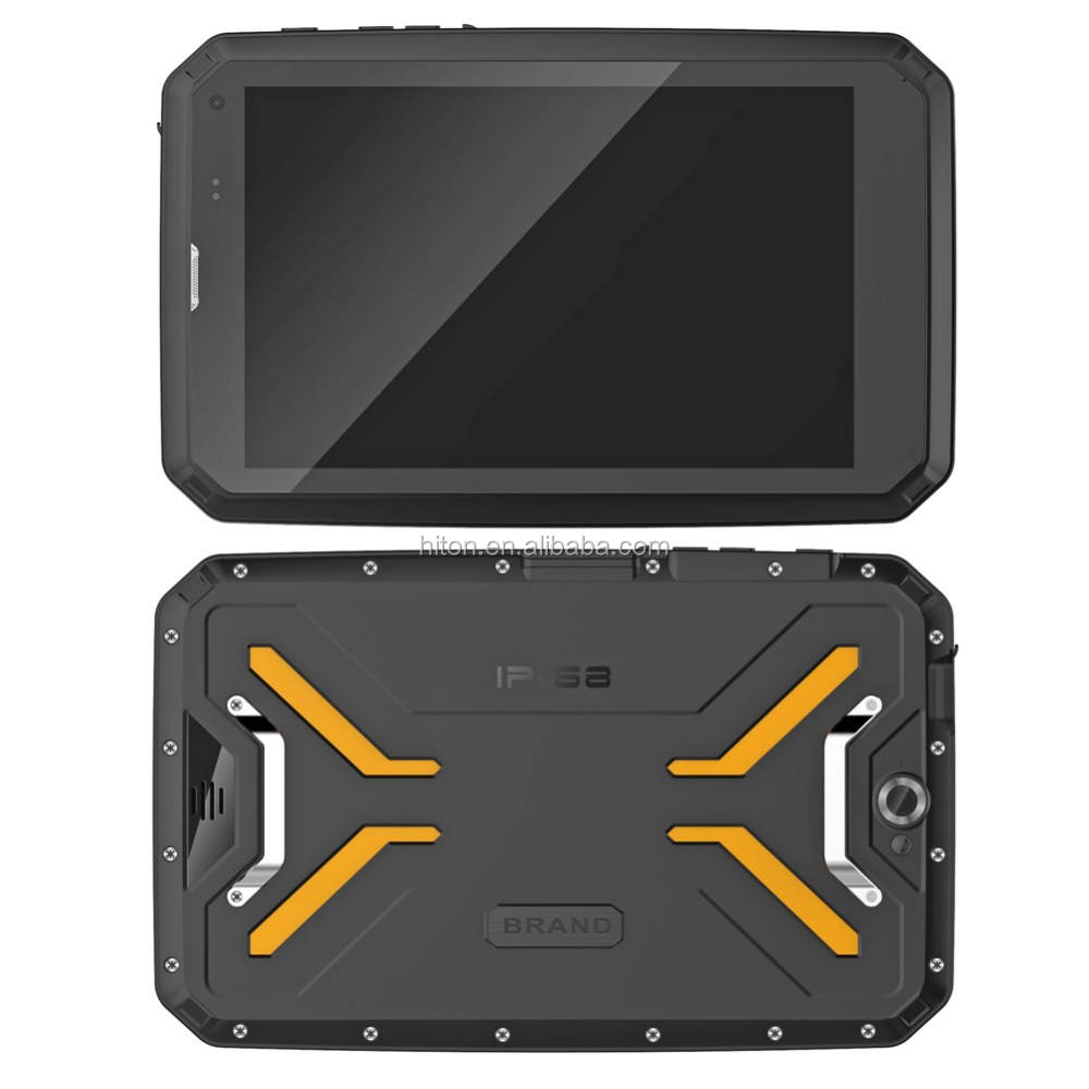 HiDON 7/8/10 inch HD Rugged tablet 4G call 3G+32G industrial Android military outdoor GPS IP68 waterproof tablet pc