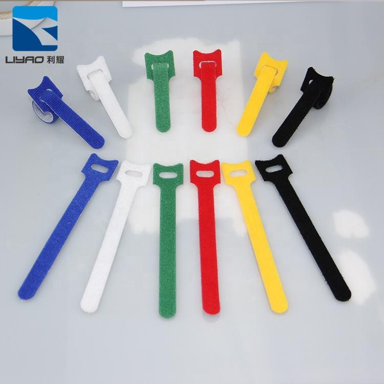 De Haute Qualité À Profil Bas Coloré Double Verrouillage Souple En Nylon Dos À Dos Cravate de Câble de Boucle De Crochet Prix