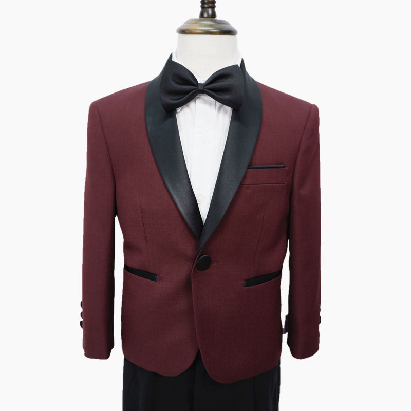 kids boys party wedding new custom two pieces tuxedo suits made in china OEM