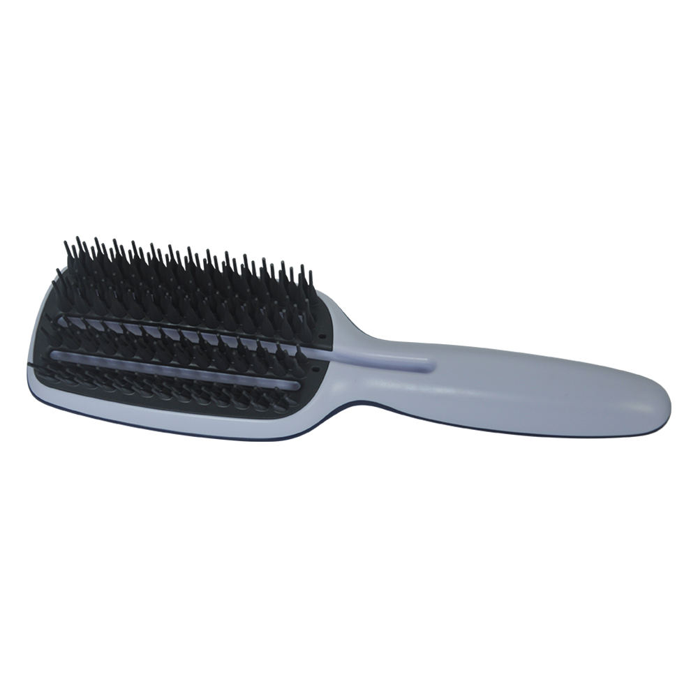 Fast drying hair brush paddle shape hair comb
