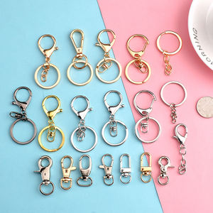 Handmade accessories decorative 33mm key chain pendant doll material 8-character buckle keychains