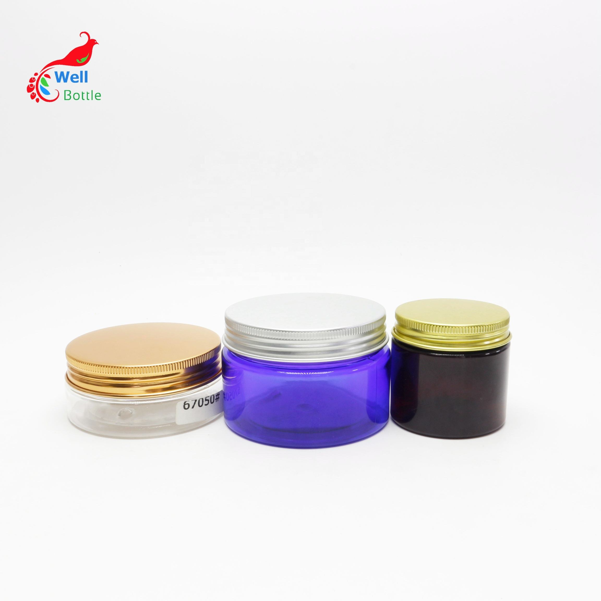 2oz 60ml 100ml 150ml 200ml 200g 8oz 250g 300ml 400g 400ml 500ml 1000ml 1g child resistant plastic jar 5ml plastic-71A