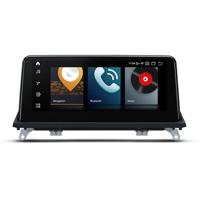10.25 Touchscreen Android Car <span class=keywords><strong>CD</strong></span>-Player für BMW X5 E70 , X6 E71 CIC-System mit eingebautem Apple Car Play