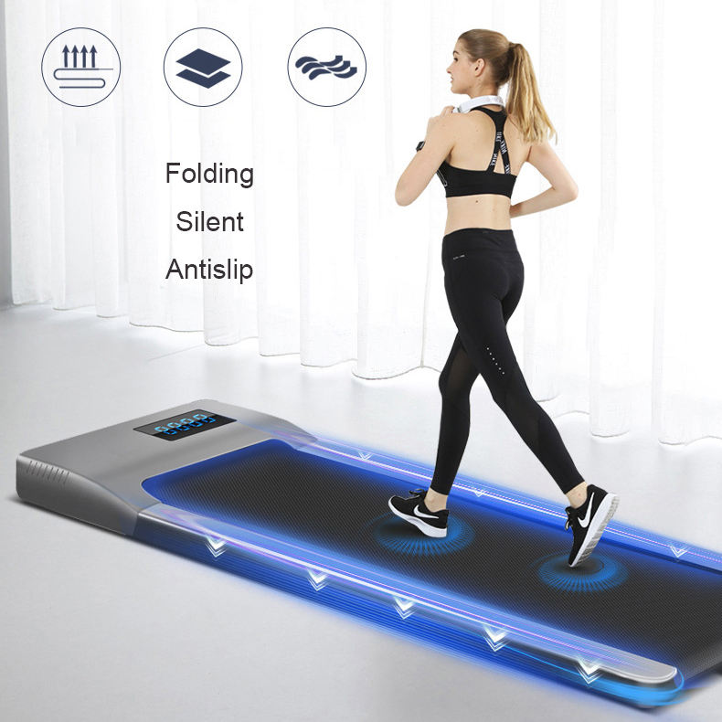 Cheap Gym Fitness Electric walking pad Home Exercise Folding walking Machine Treadmill with LED Display