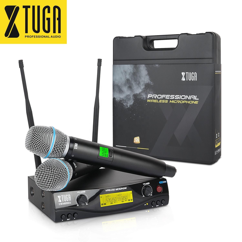 Chine en gros 2 canaux audio portatif technique ktv micro ensemble